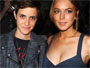 Lindsay Lohan, right, has a classic hourglass figure. Her girlfriend Samantha Ronson doesn't but may be better able to survive harsh conditions.