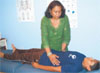 JENNIFER KOHLHEPP Millstone's Madhu Sehgal performs reiki on her son Arjun, 10, at Palms Holistic Healing, a home-based energy healing business on Prodelin Way.