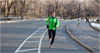 Eirini Vourloumis for The New York Times Scott Jurek running through Central Park. Jurek says he can break the American road record for a 24-hour period, 162 miles, held by Mark Godale.