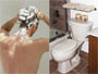 Slips, falls, and other dangers pose a threat in the bathroom. (Getty Images)